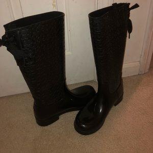 Brand New Coach Rain Boots